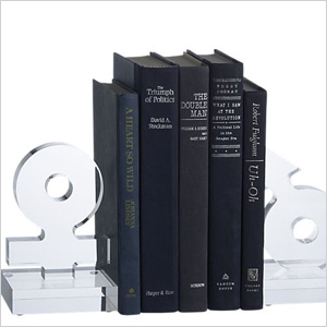 His and her bookends