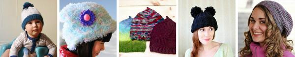 5 knit beanies