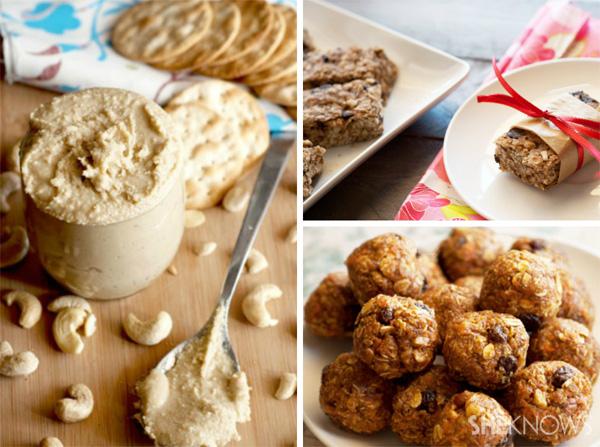 20 Healthy make-ahead snacks