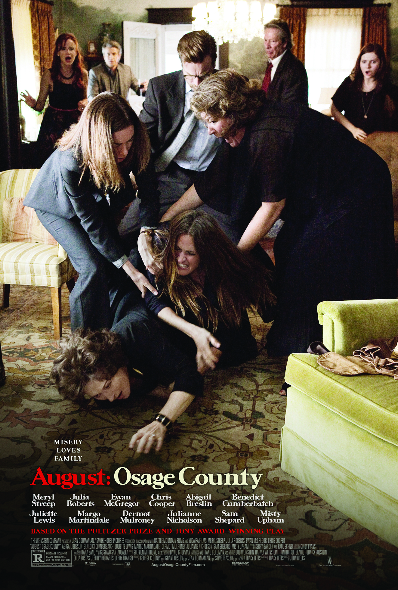 Enter to win prizes to celebrate the opening of August: Osage County!