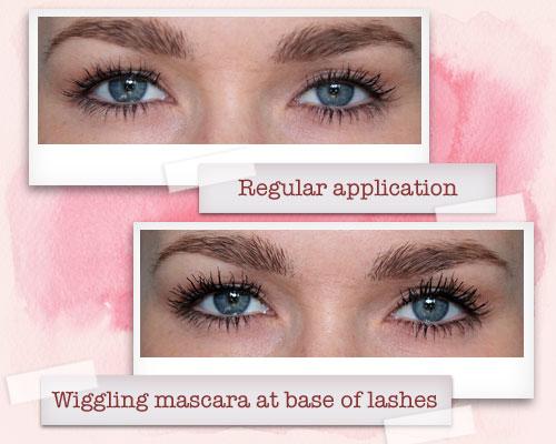 Wiggle mascara wand