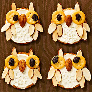 Cream Cheese Owl Treats
