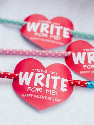 You're just write for me valentine | Sheknows.com