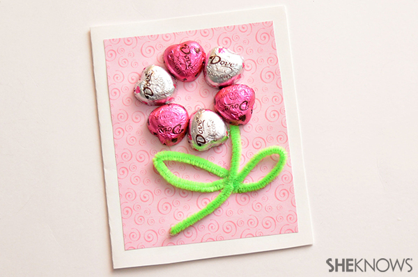 Chocolate heart flower valentine | Sheknows.com
