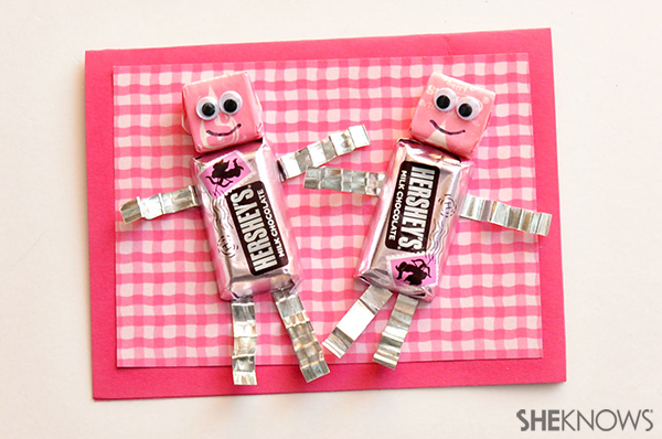Chocolate robot valentine | Sheknows.com