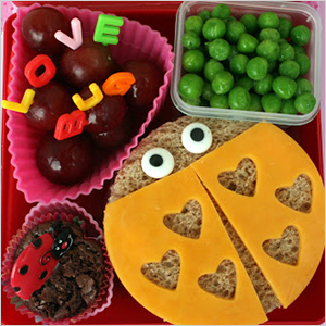 Love bug bento | Sheknows.com