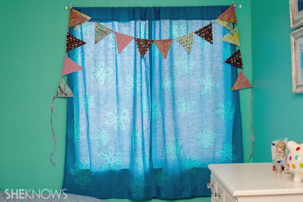 Customized curtain panels