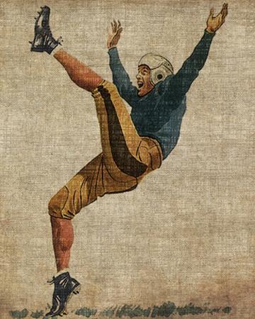 Vintage football art print   Sheknows.com
