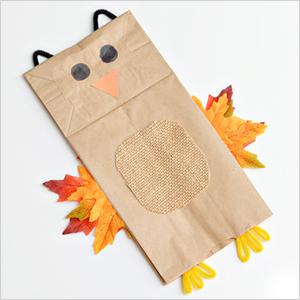 Paper bag puppet owl craft | Sheknows.com