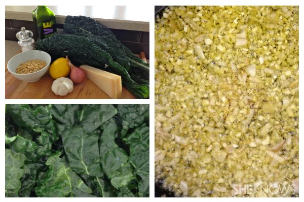 Kale and garlic salad | Sheknows.ca - directions