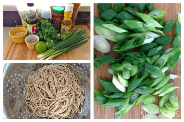 Sesame noodle salad | Sheknows.ca - directions