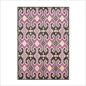 Safavieh purple viscose rug | PregnancyAndBaby.com
