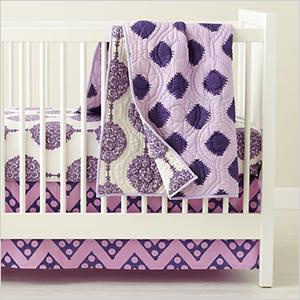 Bazaar crib bedding | PregnancyAndBaby.com
