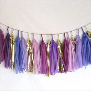 Purple party tassel | PregnancyAndBaby.com
