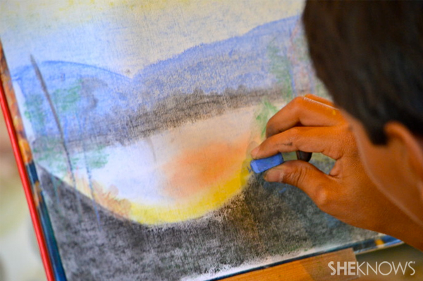 Homeschool art lessons for kids