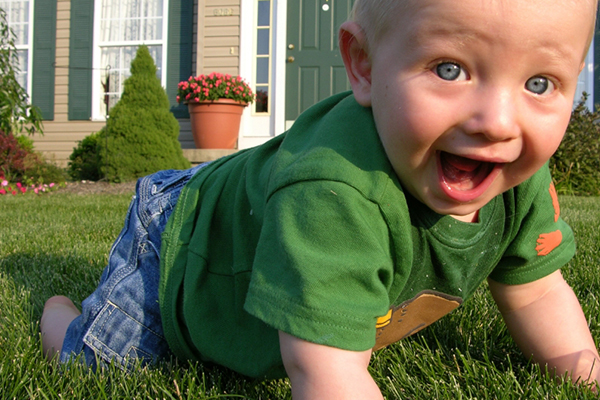 Baby boy crawling | PregnancyAndBaby.com
