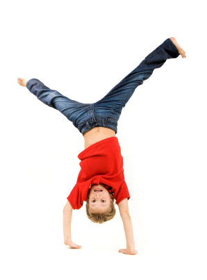 Boy somersaulting | Sheknows.com