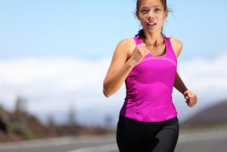 Woman training for marathon   Sheknows.ca