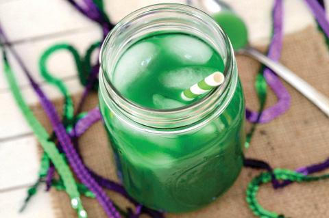 Green Gator's Blood Mocktail