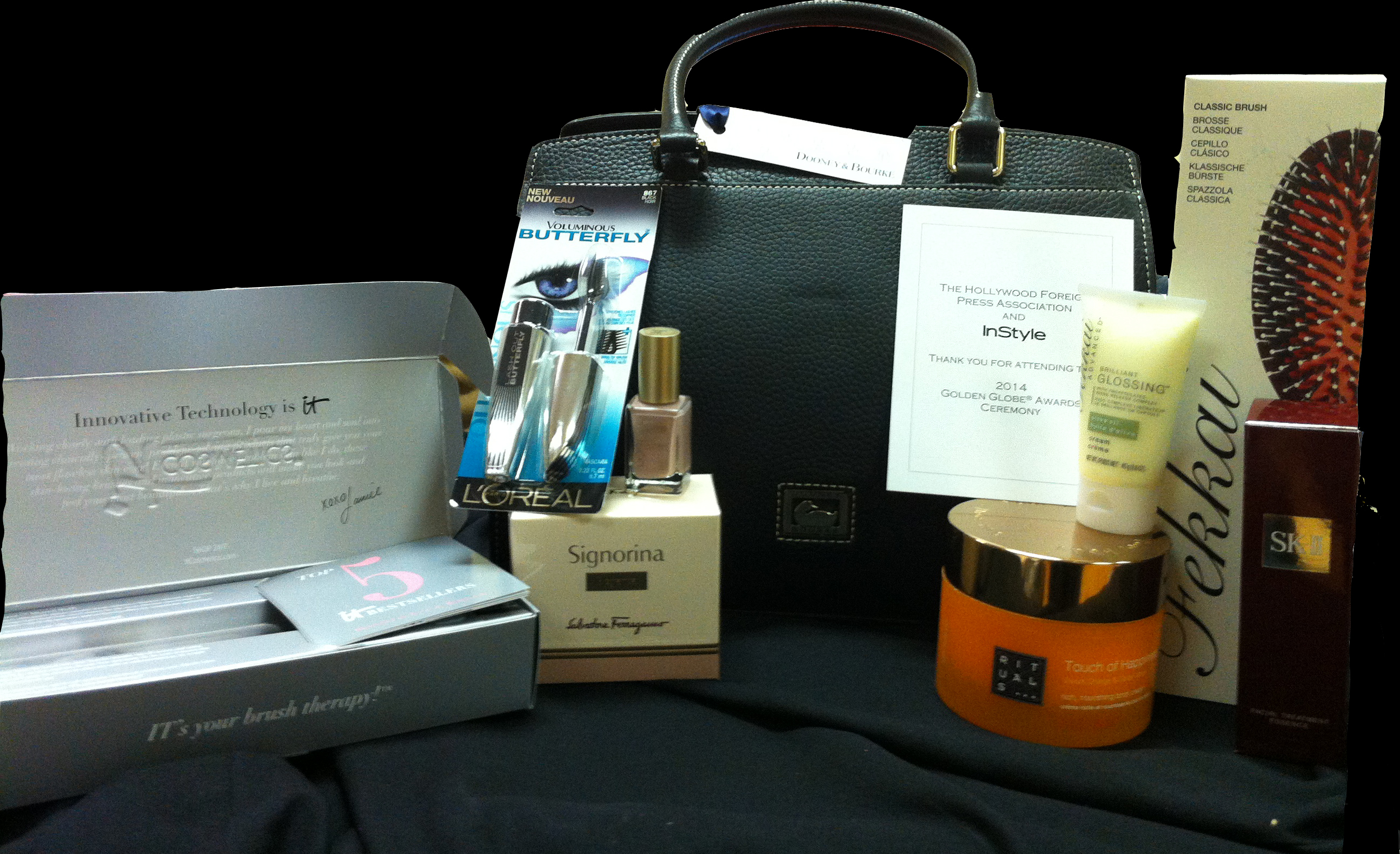 Enter now to win this Golden Globes 2014 celebrity gift bag!