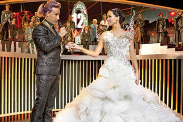 Hunger Games wedding gown