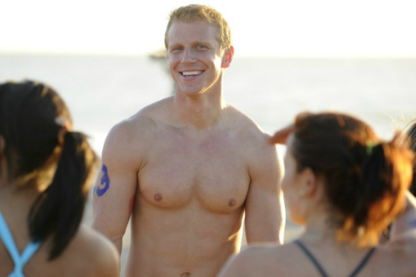 The Bachelor shirtless hunk