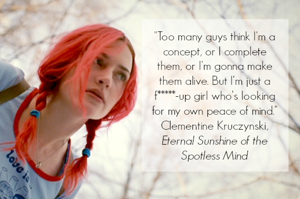 Eternal Sunshine of the Spotless Mind Inspirational Quote