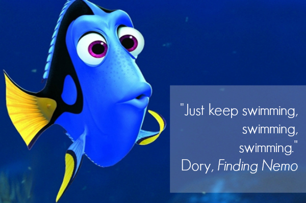Finding Nemo Inspirational Quote
