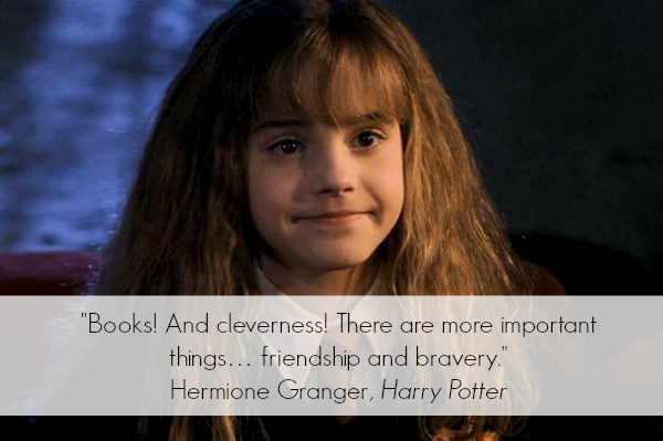Hermione Granger Inspirational Quote