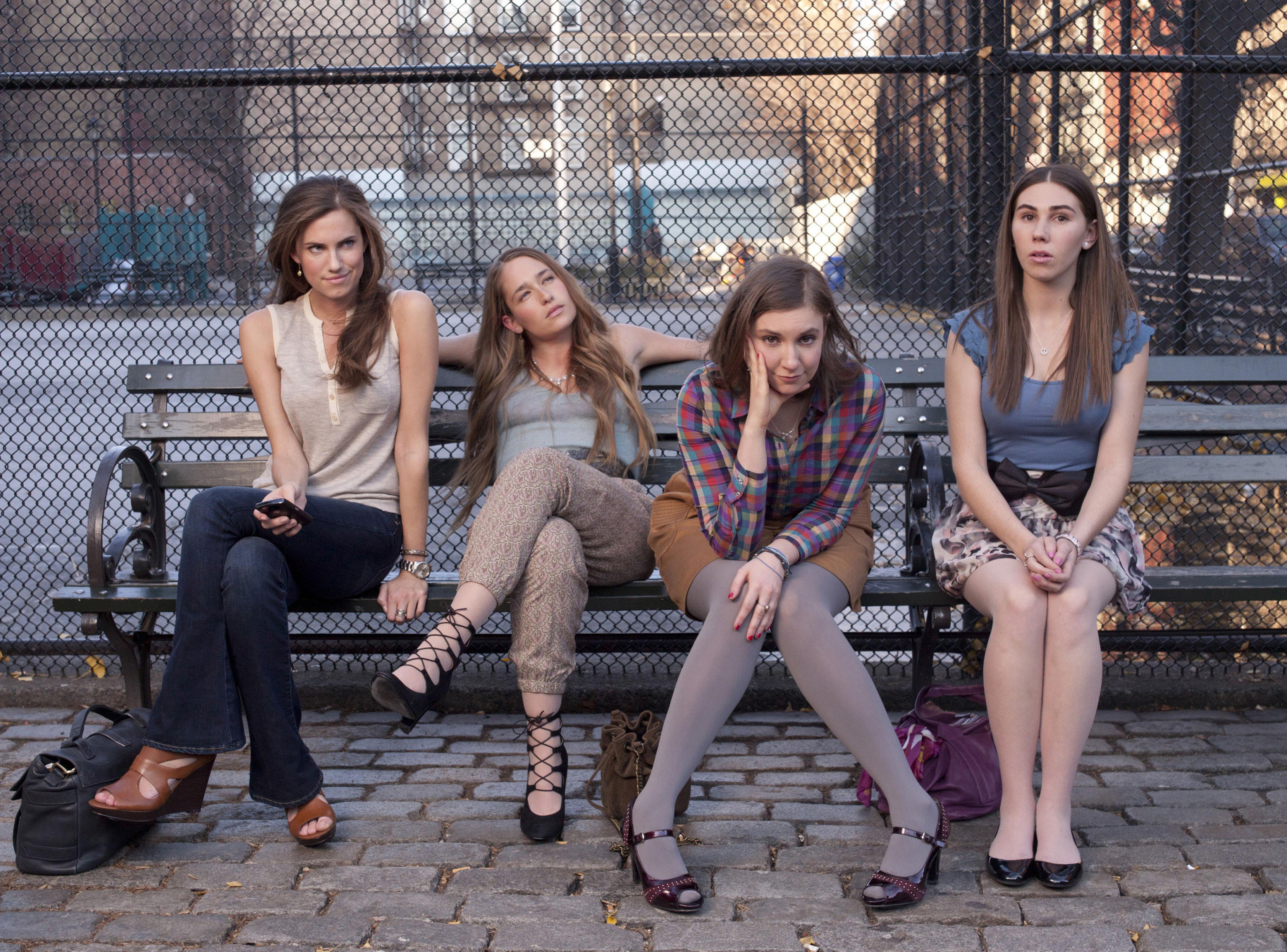 HBO's Girls cast