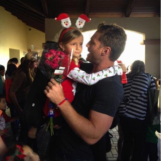 The Bachelor Juan Pablo greets his daughter CamilaJuan Pablo Daughter