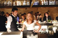 Kacey and Dominic in ABC's mixology