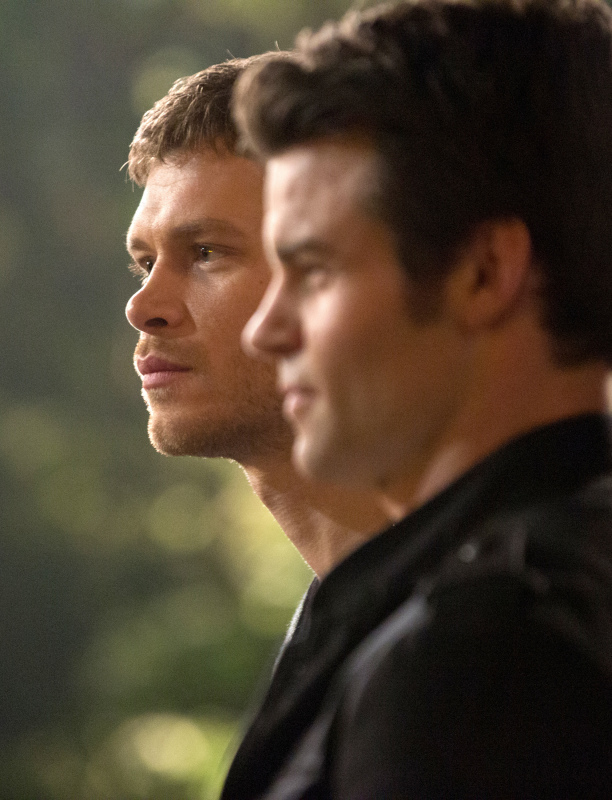 Elijah sticks by his brother's side tonight on The Originals
