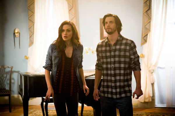 Hayley and a new werewolf on The Originals