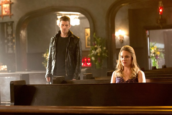 Klaus and Cami reconnect on The Originals