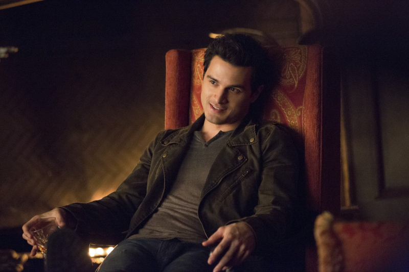 Enzo in The Vampire Diaries