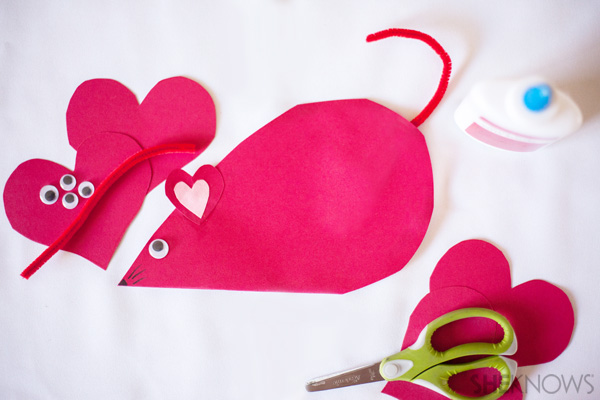 Valentine's Day mouse - SheKnows.com