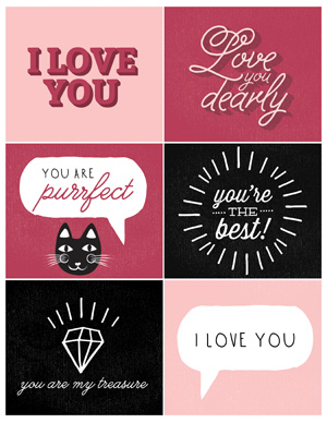 Show your love this Valentine's Day: Print your own cards at home