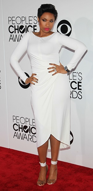 Jennifer Hudson best dressed at the 2014 People's Choice Awards