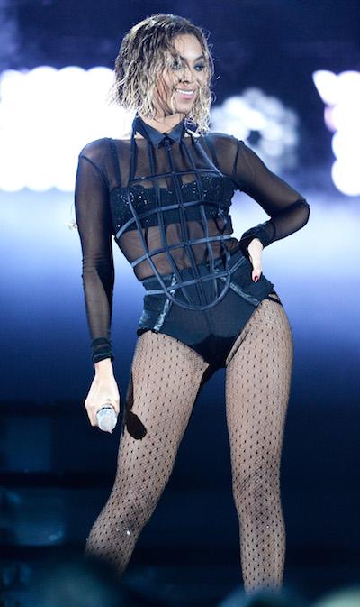 Beyonce wet hair Grammys