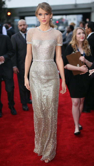 Taylor Swift Gucci Grammys dress