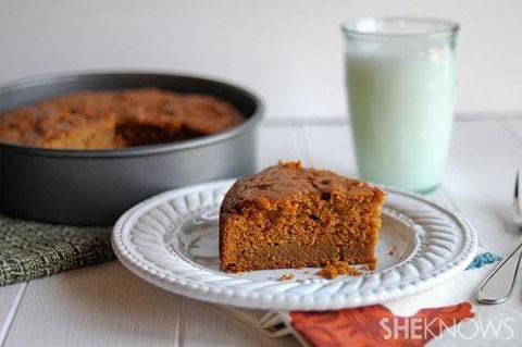 Sweet potato breakfast cake