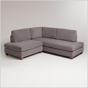 Charcoal Wyatt sectional