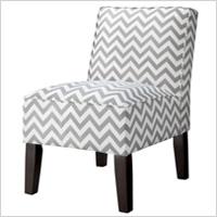 Burke slipper chair - chevron