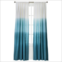 Ombre stripe window panel