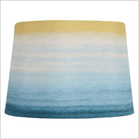 Threshold ombre printed lampshade