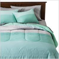 Ombre block comforter
