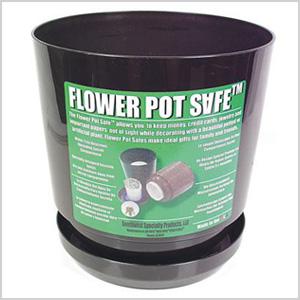 Flower pot safes