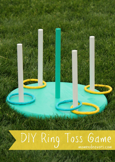 Backyard games for the whole family