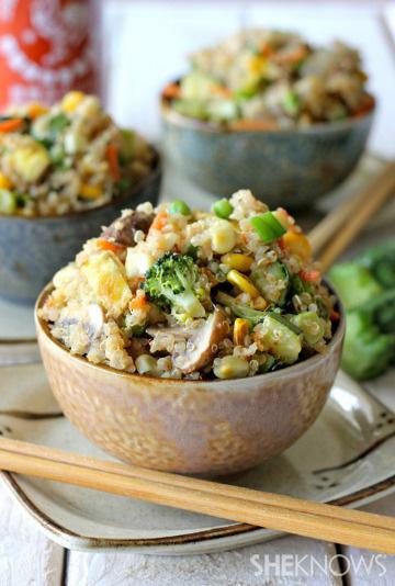 quinoa veggie